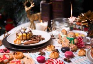 Viel Zucker in der Weihnachtszeit